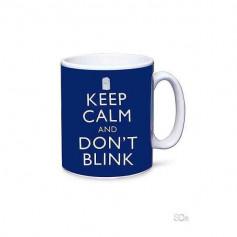 Mug Doctor Who - Keep calm and don't blink