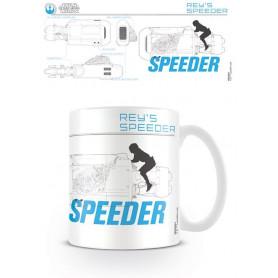 Star Wars - Mug - Rey's Speeder Sketch