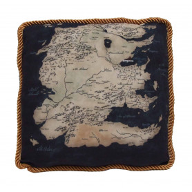 Game of Thrones - Coussin Westeros - South Map
