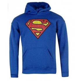 Cotton Division - Sweat Shirt a capuche Superman Logo Vintage - DC COMICS