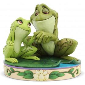 """Enesco Disney Traditions - La Princesse et la Grenouille Tiana """"Les grenouilles amoureuses"""""""