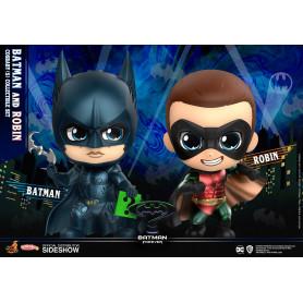 Hot Toys Cosbaby - Batman Forever - Batman & Robin