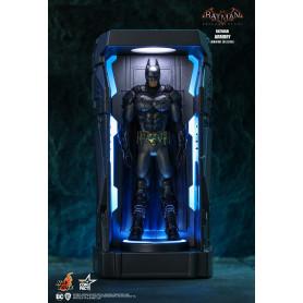 Hot toys - Batman Arkham Knight Armory Miniature Collectible Set - 6 Armures