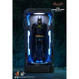 Hot toys - Batman Burton (1989) Arkham Knight Armory Miniature Collectible