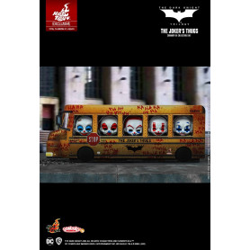 Hot Toys - Batman The Dark Knight Trilogy - The Joker's Thugs set de 5 - Cosbaby - 9cm