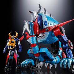 Bandai Soul of Chogokin - GX-100 Divine Demon-Dragon Gaiking - Gaiking & Daiku Maryu