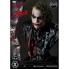 Prime 1 Studio X Blitzway - The Joker Premium Bust 1/3 Museum Masterline Series - The Dark Knight