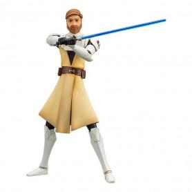 Star Wars - ARTFX+ kotobukiya - The Clone Wars Obi-Wan Kenobi 1/10