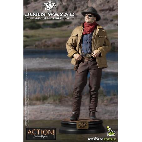 Infinite Statue X Kaustic Plastik - John Wayne 1/6 Action Figure