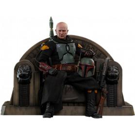 Hot Toys Star Wars The Mandalorian - Boba Fett (Repaint Armor) and Throne 1/6 Movie Masterpiece
