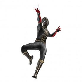 Hot Toys Marvel's Spider-Man: No Way Home figurine Movie Masterpiece 1/6 Spider-Man (Black & Gold Suit)
