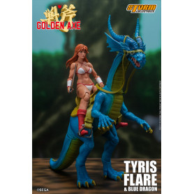 Storm Collectibles - Golden Axe - Tyris Flare & Blue Dragon 1/12