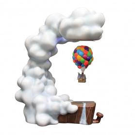 Enesco Disney - Grand Jester - Là-haut maison lévitant UP Levitating House