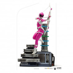 Iron Studios - Pink Ranger - Power Rangers BDSArt Scale 1/10