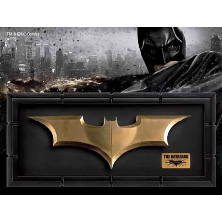 Noble Collection Batman The Dark Knight Rises réplique Batarang
