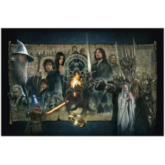 Lord of the Rings: The Fellowship of the Ring Art Print - 46 x 61 cm - non encadrée