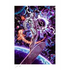 Marvel impression - Art Print Heralds of Galactus by John Keaveney - 46 x 61 cm - non encadrée