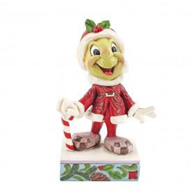 Enesco Disney Traditions Jim Shore Figurine Santa Jiminy Cricket