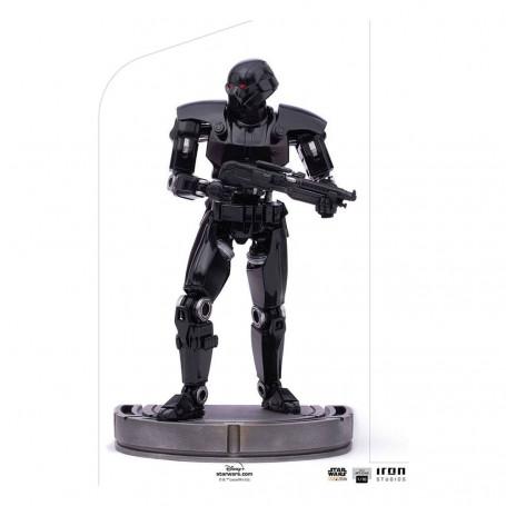IRON STUDIOS - The Mandalorian - Dark Trooper BDS Art Scale 1/10 - Star Wars