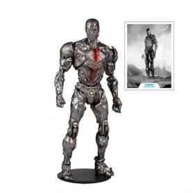 Mc Farlane DC Comics - Cyborg Helmet Version Justice League The Snyder Cut 1/12