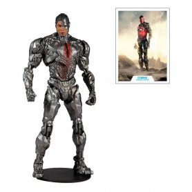 Mc Farlane DC Comics - Cyborg Justice League The Snyder Cut 1/12