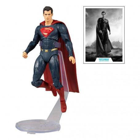 Mc Farlane DC Comics - Superman Blue/Red Suit Justice League The Snyder Cut 1/12
