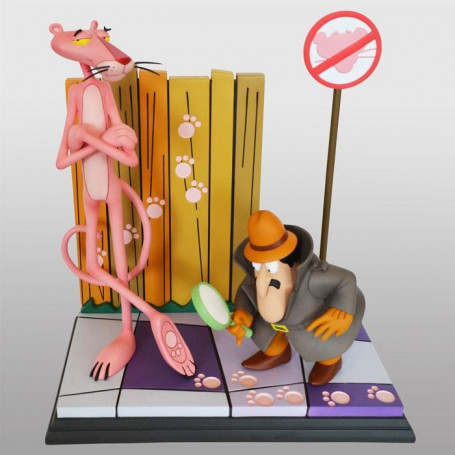 Hollywood collectibles La Panthère rose (film, 1963) statuette Pink Panther & The Inspector
