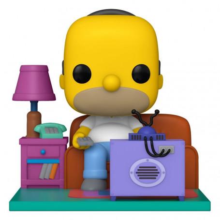 Funko POP! TV - The Simpsons - Deluxe Homer Watching TV