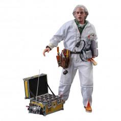 Hot Toys Retour vers le futur Doc Brown Deluxe Version figurine 1/6