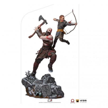 Iron Studios - God of War - Kratos & Atreus V2 - BDS Art Scale 1/10