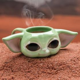Paladone - Star Wars - The Child Shaped Mug - Grogu - Baby Yoda - The Mandalorian