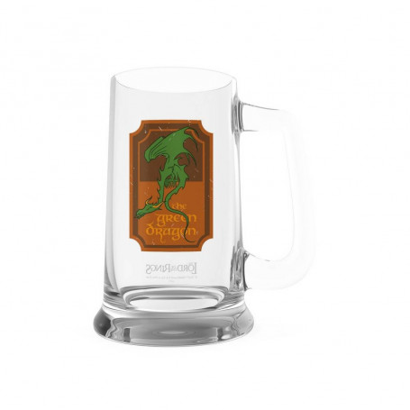 SD Toys - The Green Dragon Crystal Jug - Lord of the Rings: 20th Anniversary - Chope