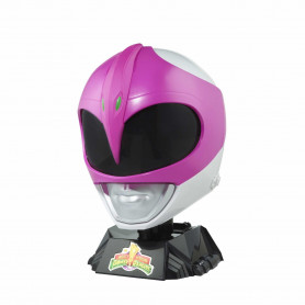 Hasbro - Casque Pink Ranger 1:1 - Mighty Morphin Power Rangers Lightning Collection - Edition Collector