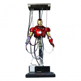 Hot Toys - Iron Man 3 Mark III Construction Version Reedition - Movie Masterpiece 1/6