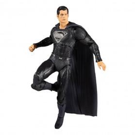 Mc Farlane DC Comics - Superman Black Suit Justice League The Snyder Cut 1/12