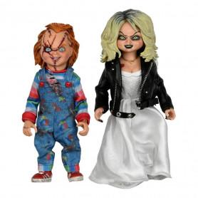 Neca Child's Play - Retro Cloth Chucky & Tiffany - Bride of Chucky