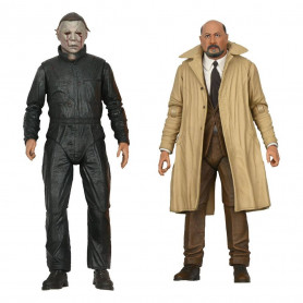 Neca Halloween 2 - Ultimate Michael Myers & Dr Loomis pack 2 figurines