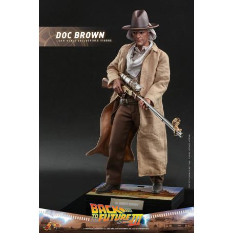 Hot Toys Retour vers le futur 3 - Doc Brown Movie masterpiece 1/6