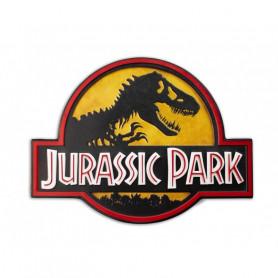 Doctor Collector - Jurassic Park - PLAQUE METALLIQUE LOGO
