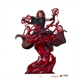 Iron Studios Marvel - Wanda Vision - Scarlet Witch - Wanda Maximoff - La Sorciere Rouge - Deluxe Art Scale 1/10