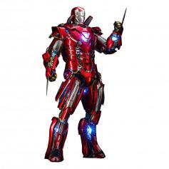 Hot Toys Iron Man 3 - Silver Centurion (Armor Suit Up Version) Movie Masterpiece 1/6