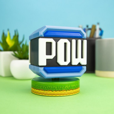 Paladone - Pow Block Icon Light - Veilleuse Mario Bros Nintendo