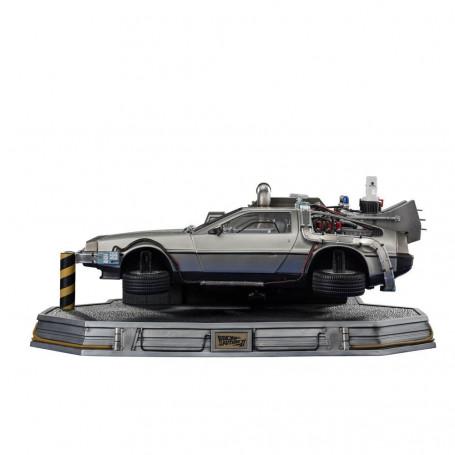 Iron Studios - BTTF 2 - Retour vers le Futur II Statuette 1/10 Art Scale DeLorean