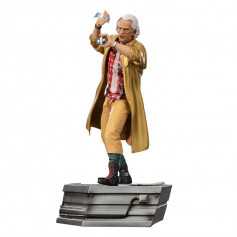 Iron Studios - BTTF 2 - Doc Brown Back to the Future Part II - BDS Art Scale