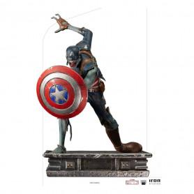 Iron Studios Marvel - What If...? Captain America Zombie statuette 1/10 Art Scale