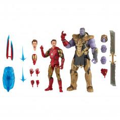 Marvel Legends Series - Iron Man Mark 85 Vs Thanos - The Infinity Saga - Avengers Endgame