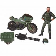 Hasbro G.I.JOE - ALVIN BREAKER KINNEY WITH RAM CYCLE - Classified Series