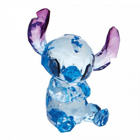 Enesco Disney Lilo & Stitch - Stitch facon pierre precieuse - Facettes