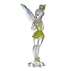 Enesco FACET - Peter Pan - Clochette facon pierre precieuse - Tinker Bell