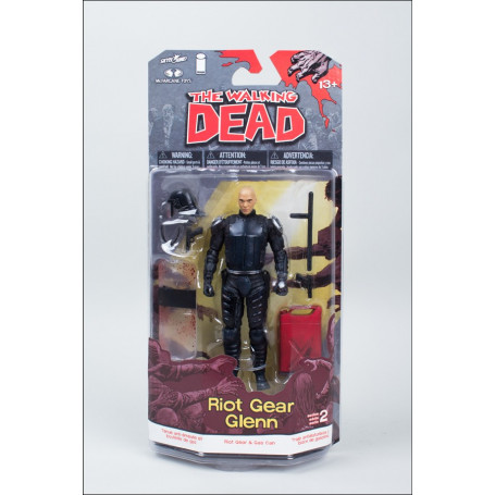 McFarlane The walking dead Comics Serie 2 - Riot Gear Glenn